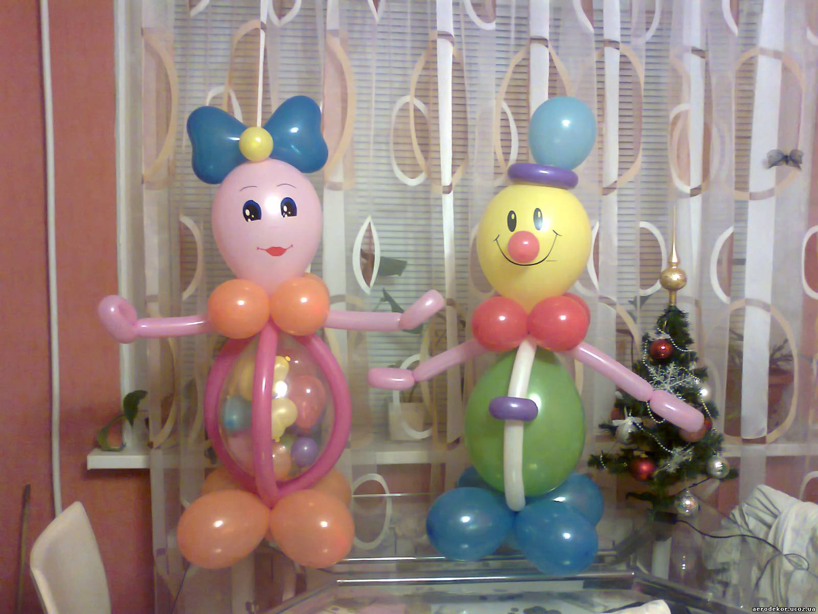 Человечки из шариков своими руками фото