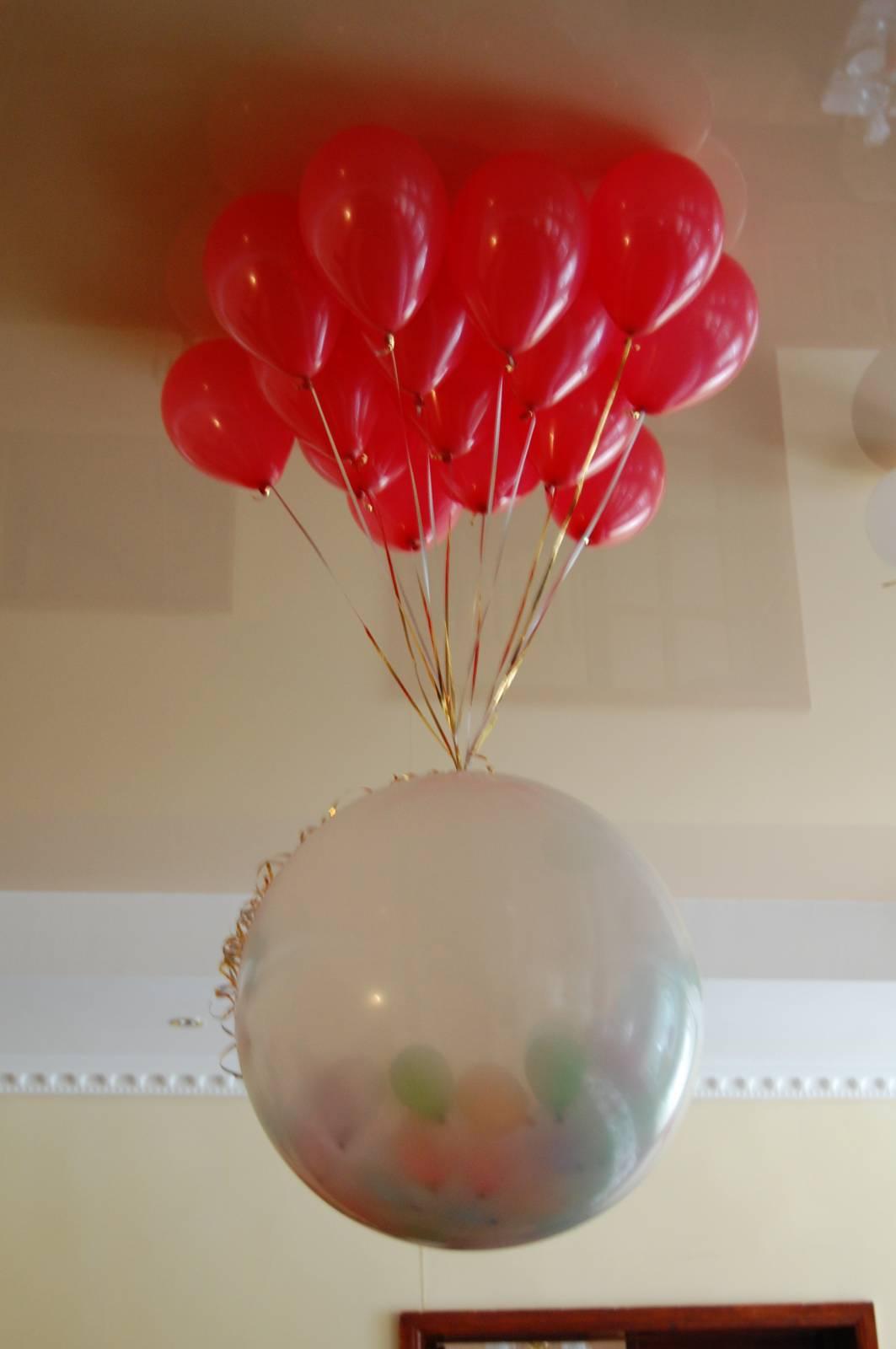 Как сделать воздушный шар сюрприз
